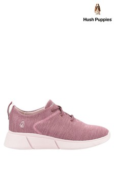Hush Puppies Pink Makenna Lace-Up Shoes