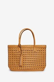 Weave Shopper Bag