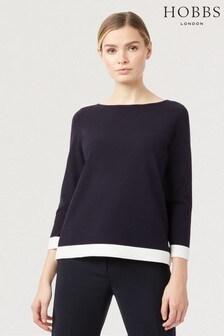 סוודר דגם Gracie בצבע כחול של Hobbs