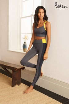 Boden Grey Jessica Active Leggings