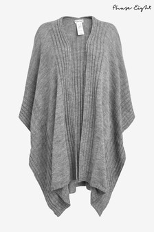 Phase Eight Grey Taylor Textured Cape