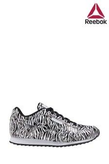Reebok Zebra Print Jogger Junior Trainers