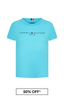 Tommy Hilfiger Boys Organic Cotton Essential T-Shirt