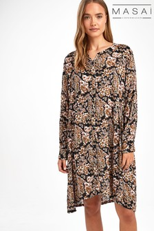 Masai Brown Nelly Shirt Dress