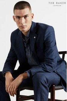 Ted Baker Jeademj Debonair Linen Modern Fit Suit Jacket