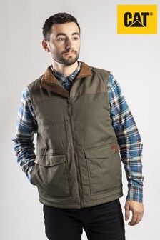 CAT® Green AG Zip Up Vest