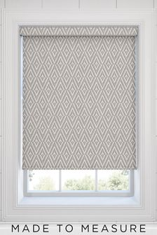 Nina Silver Grey Made To Measure Roller Blind