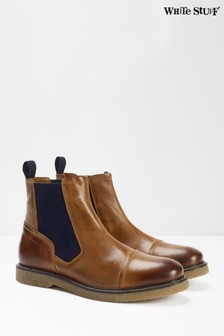White Stuff Brown Mason Casual Chelsea Boots