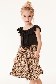 Bardot Knot Front Dress (3-12yrs)