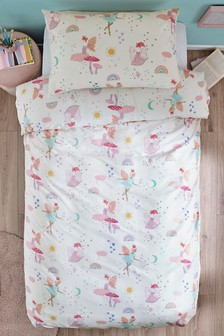 Fairies And Princesses Duvet Cover and Pillowcase Set