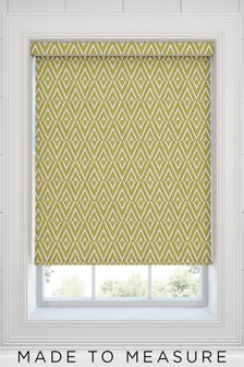 Nina Citrus Green Made To Measure Roller Blind