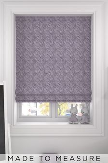 Bronte Mulberry Purple Made To Measure Roman Blind