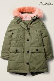 Boden Green Cosy Parka Jacket