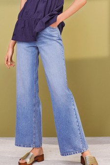 Soft Wide Leg Jeans