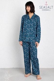 Seasalt Blue View Point Pyjamas