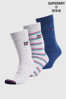 Superdry City Socks Three Pack