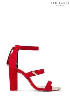 Ted Baker Red Heeled Sandals