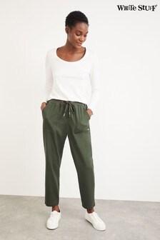 White Stuff Green Olivia Joggers