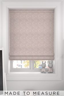 Bronte Sand Natural Made To Measure Roman Blind