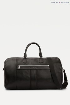 Tommy Hilfiger Black Downtown Duffle Bag