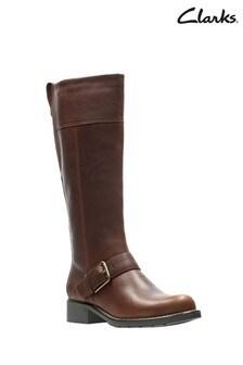 Clarks Tan Orinoco Jazz Boots