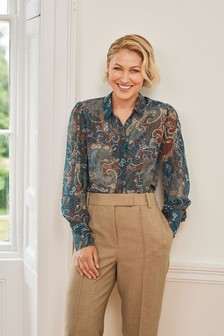 Emma Willis Sheer Shirt