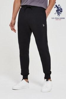 U.S. Polo Assn. Black Core Fleece Joggers