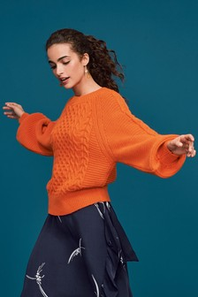 Cable Volume Sleeve Jumper