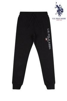 U.S. Polo Assn. Black Sport Joggers