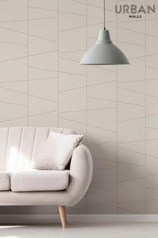 Urban Walls Natural Deco Fracture Wallpaper