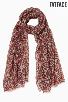 FatFace Blue Praire Meadow Scarf