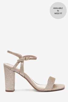Block Heel Delicate Sandals