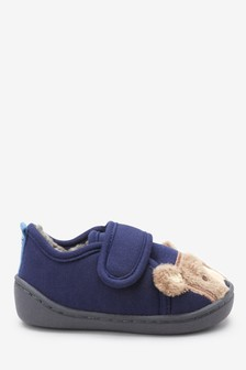 Warm Lined Bear Slippers (Younger)