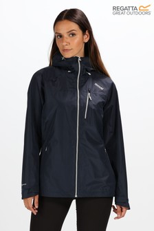 Regatta Blue Womens Holtridge Waterproof Jacket