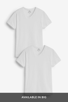V-Neck T-Shirts Two Pack