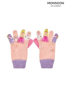 Monsoon Mystical Unicorn Colourblock Gloves