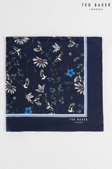 Ted Baker Brushpo Floral Pocket Square