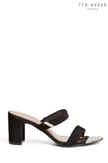 Ted Baker Black Heeled Sandals