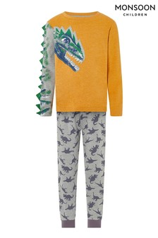Monsoon Children Aragon Dino Jersey Pyjamas