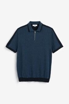Premium Zip Polo
