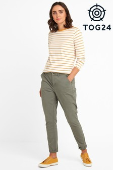 Tog 24 Womens Green Pickering Regular Chino Trousers