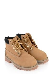 Kids Chestnut Premium WP Boots
