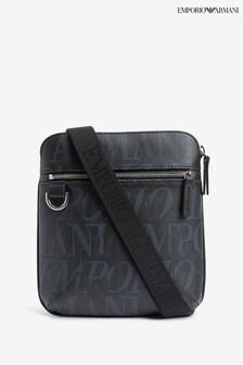 Emporio Armani Black Multi Cross Body Bag