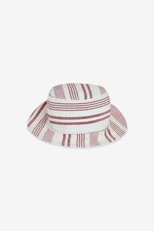 Stripe Bucket Hat (0mths-2yrs)