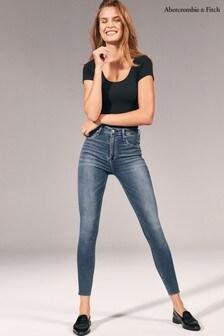 Abercrombie & Fitch Dark Blue Jeans