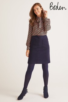 Boden Blue Bay Mini Skirt