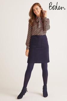 Boden Blue Bay Mini Skirt