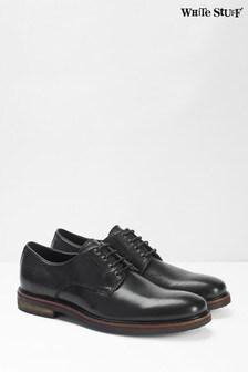 White Stuff Black Toby Lace-Up Shoes