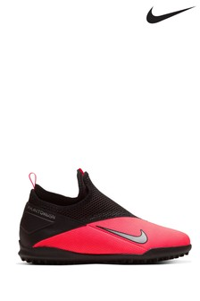 Nike Red Phantom Vision Academy Turf Junior & Youth Football Boots