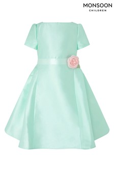 Monsoon Cynthia Mint Cap Sleeve Dress